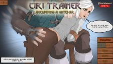 Ciri Trainer 18+ Adult game cover