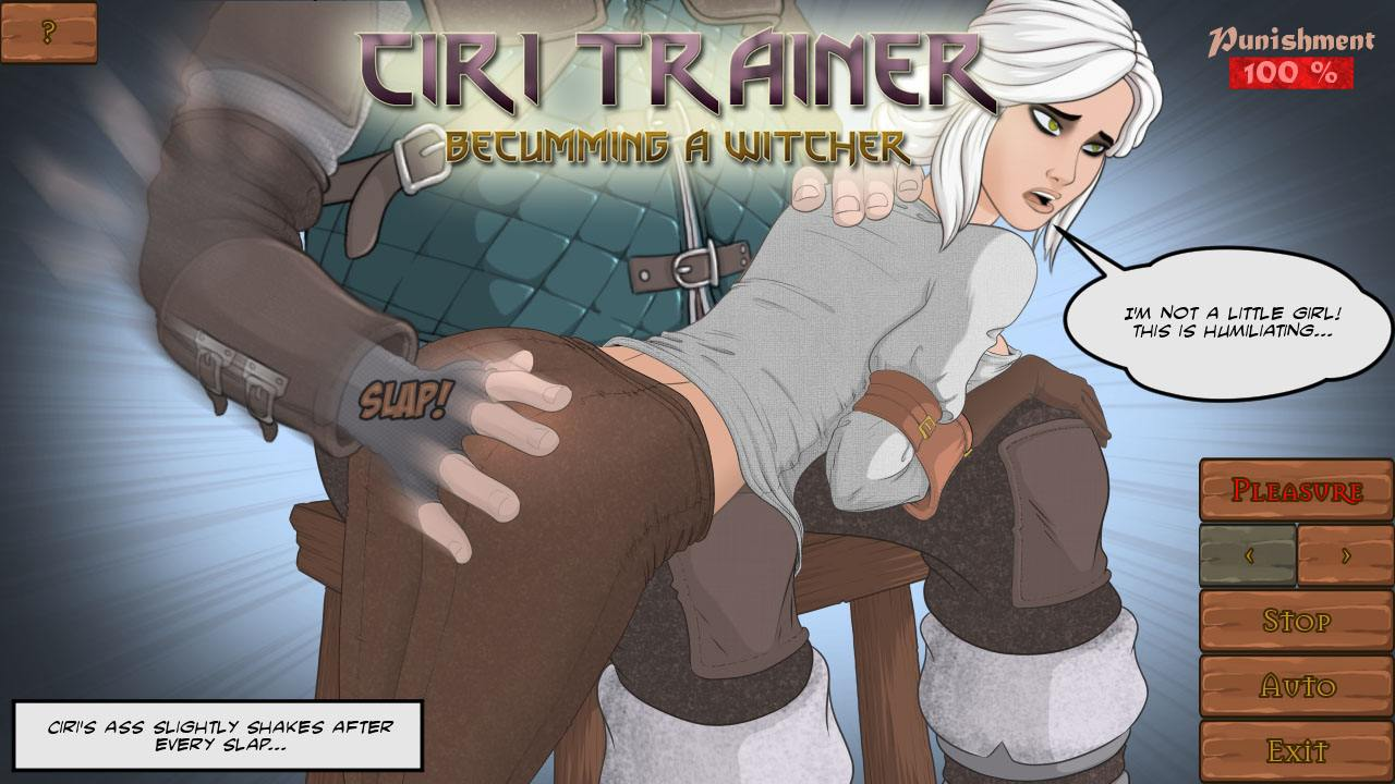Ciri Trainer Adult Game Cover