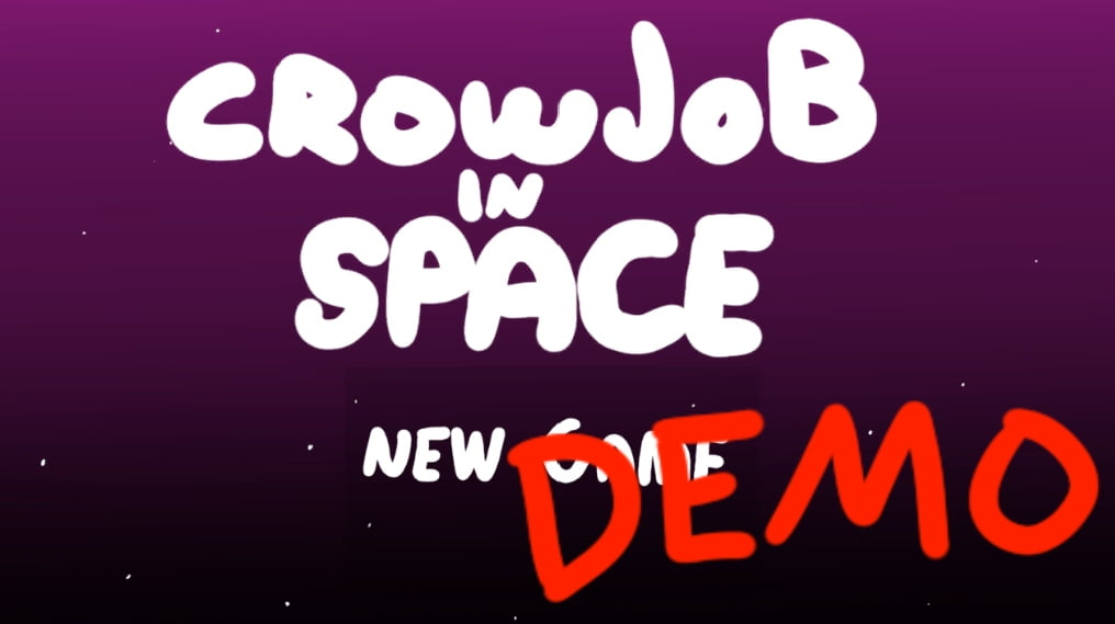 Crowjob in Space Adult Game Cover