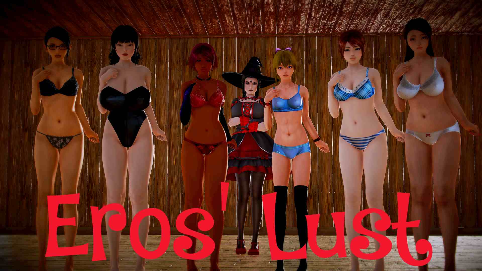 Eros' Lust Adult Game Cover