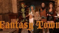 Fantasy Town 18+ Adult game cover