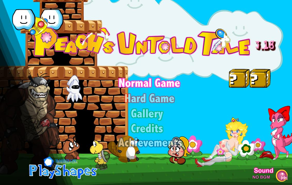 Mario Is Missing: Peach's Untold Tale Adult Game Cover