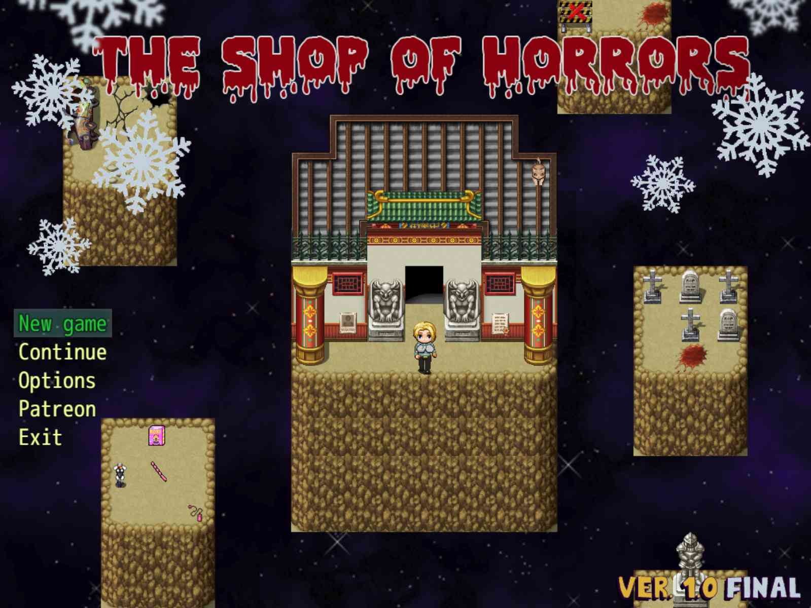 The Shop of Horrors Adult Game Cover