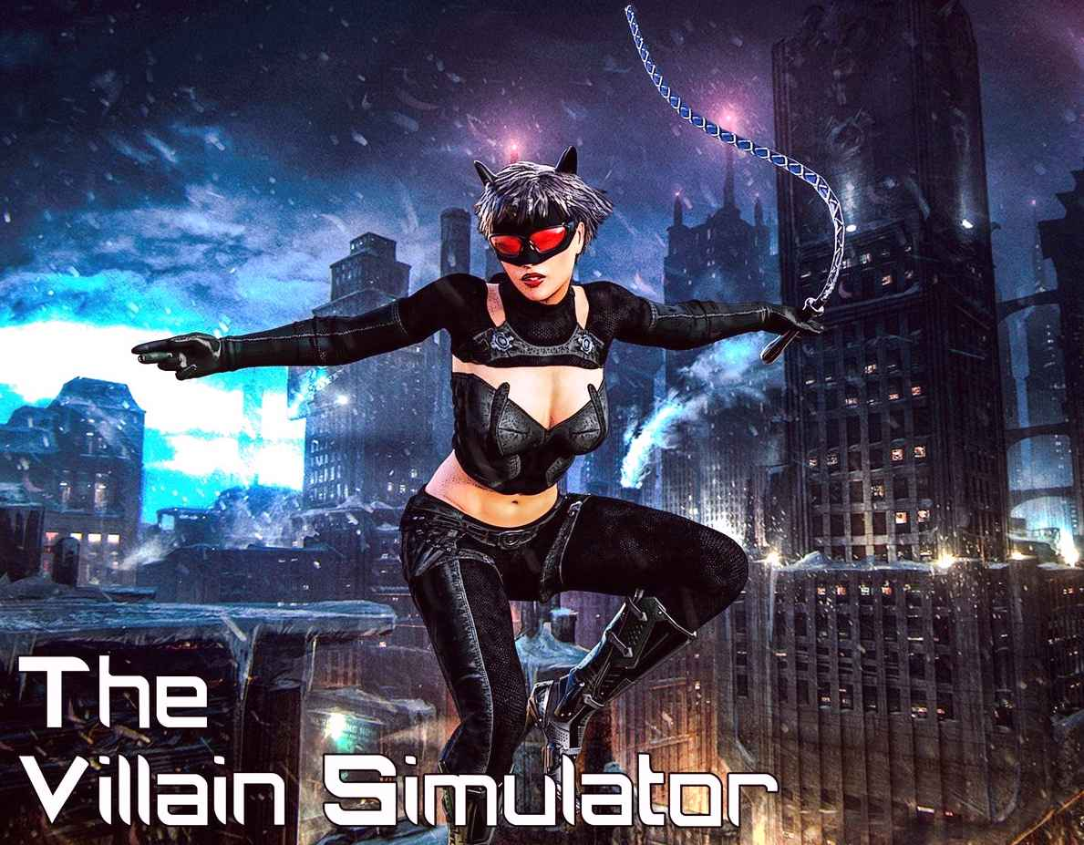 The Villain Simulator Adult Game Cover