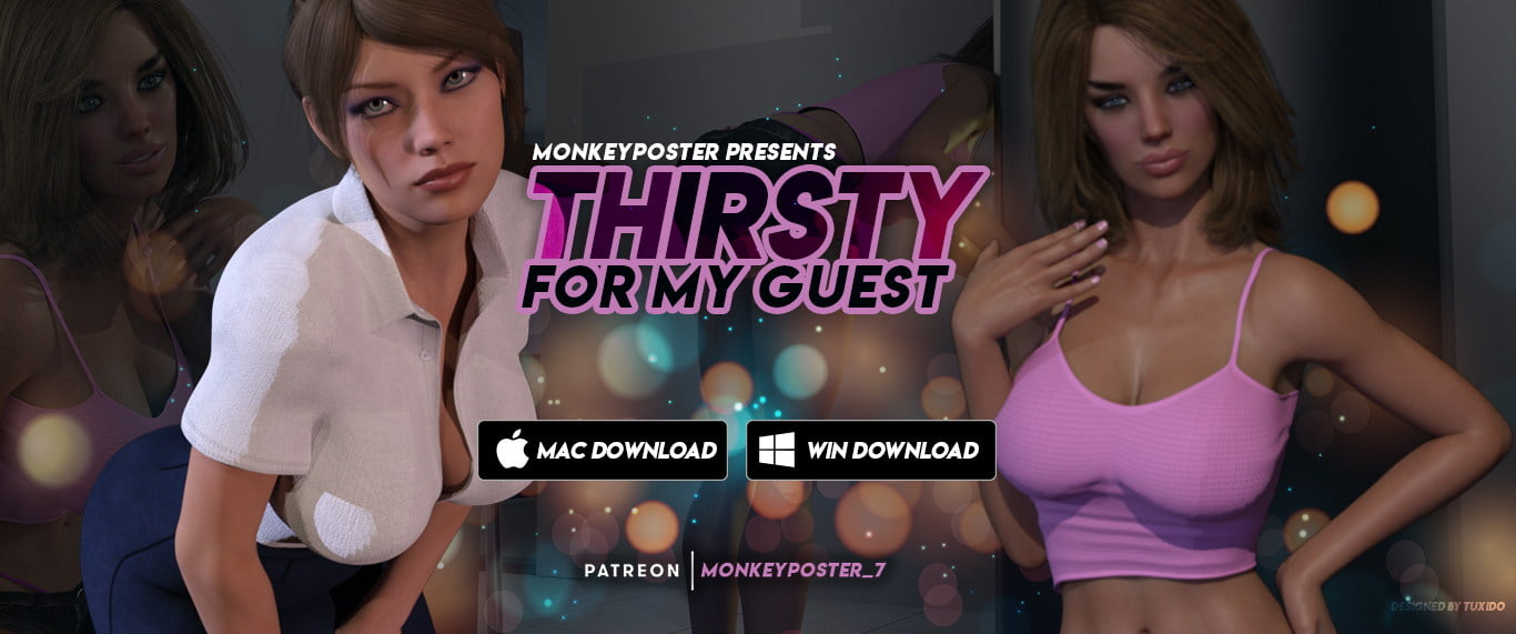 Thirsty For My Guest Adult Game Cover
