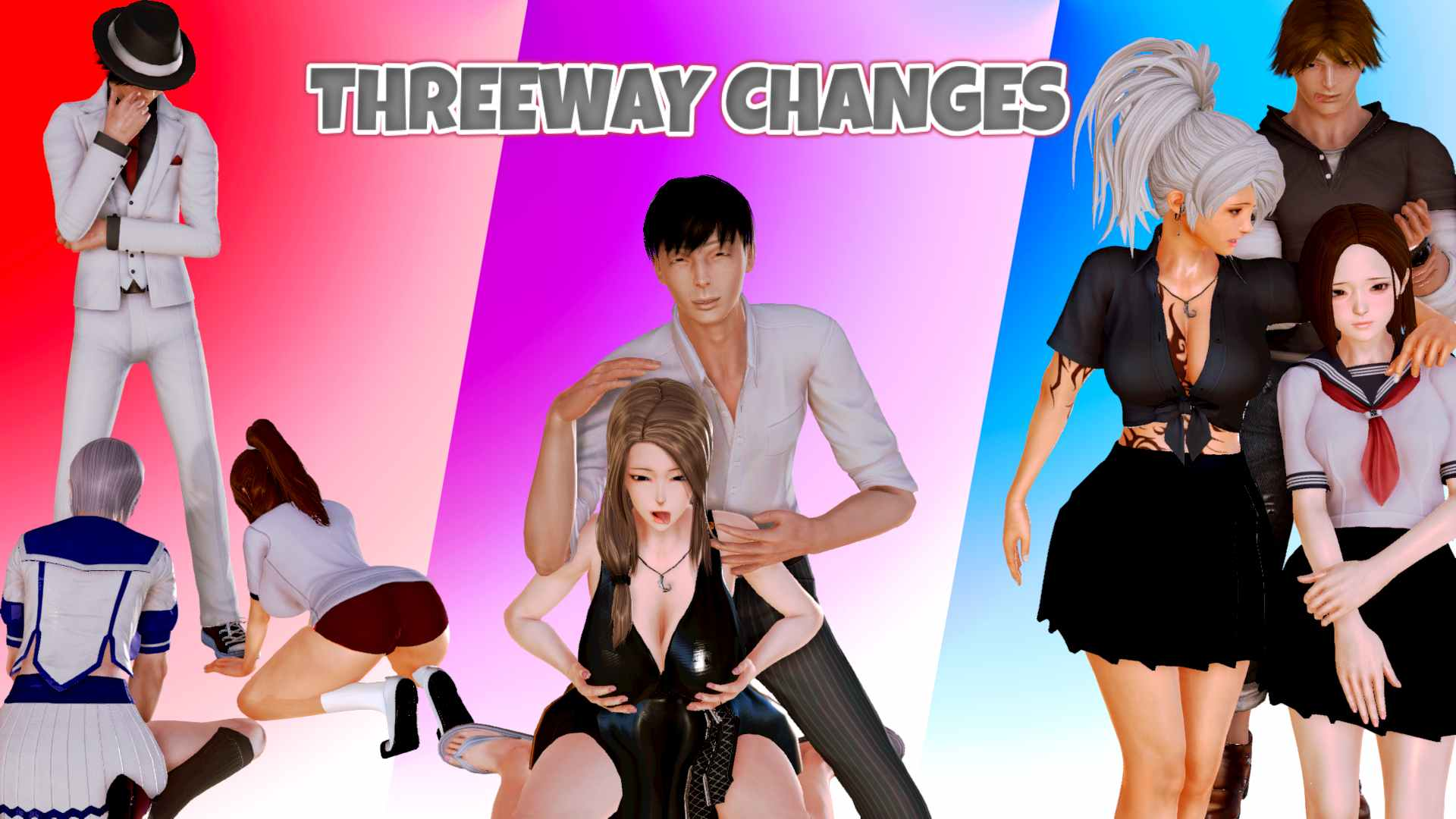 Threeway Changes Adult Game Cover