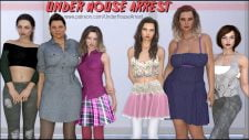 Under House Arrest 18+ Adult game cover