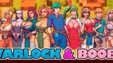 Warlock and Boobs 18+ Adult game cover