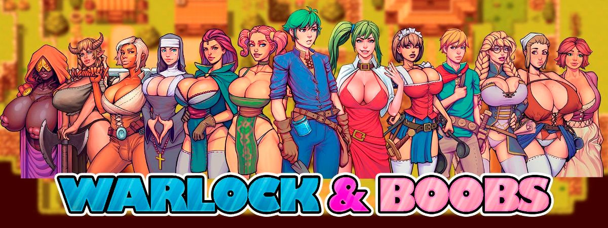 Warlock and Boobs Adult Game Cover