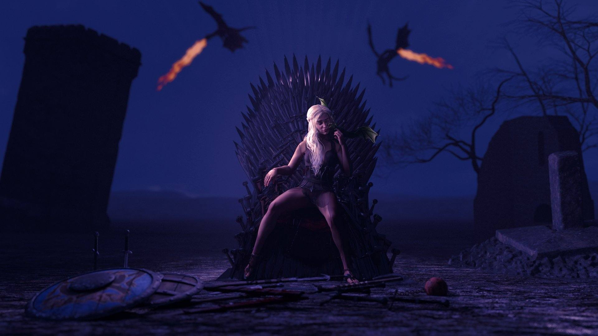 Whores of Thrones Adult Game Cover