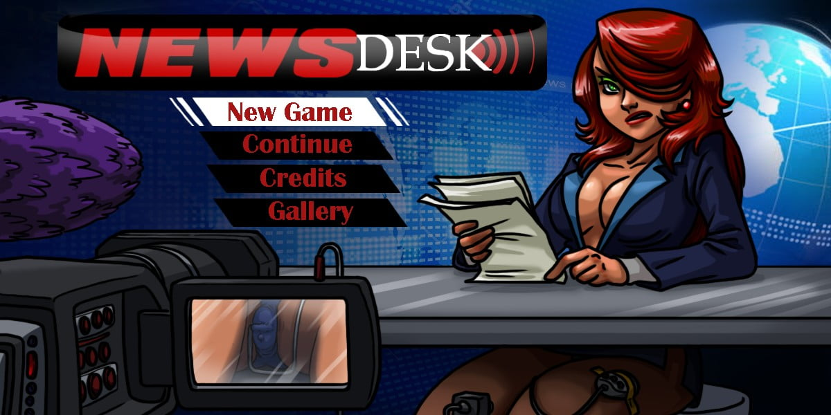 News Desk Adult Game Cover