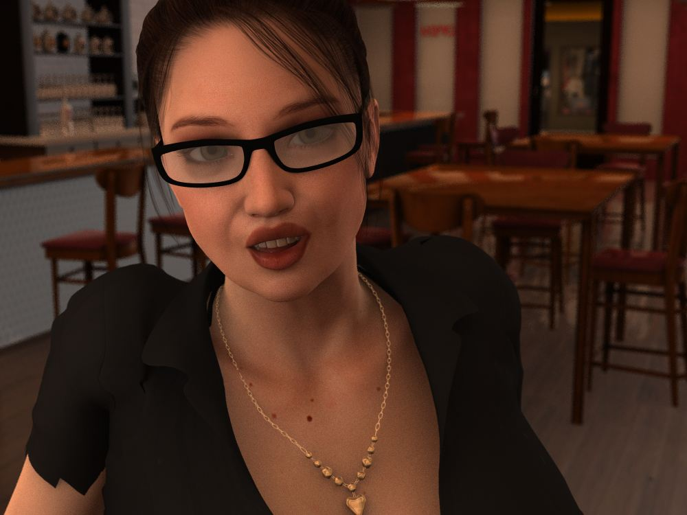 A Date With Bridgette Adult Game Cover