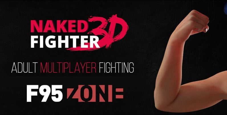 Naked Fighter 3D Adult Game Cover
