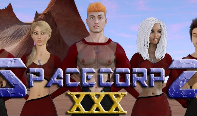 SpaceCorps XXX Adult Game Cover
