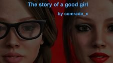 The Story Of A Good Girl 18+ Adult game cover