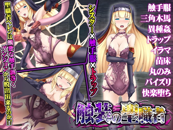 The Tentacularly Adorned Priestess Adult Game Cover