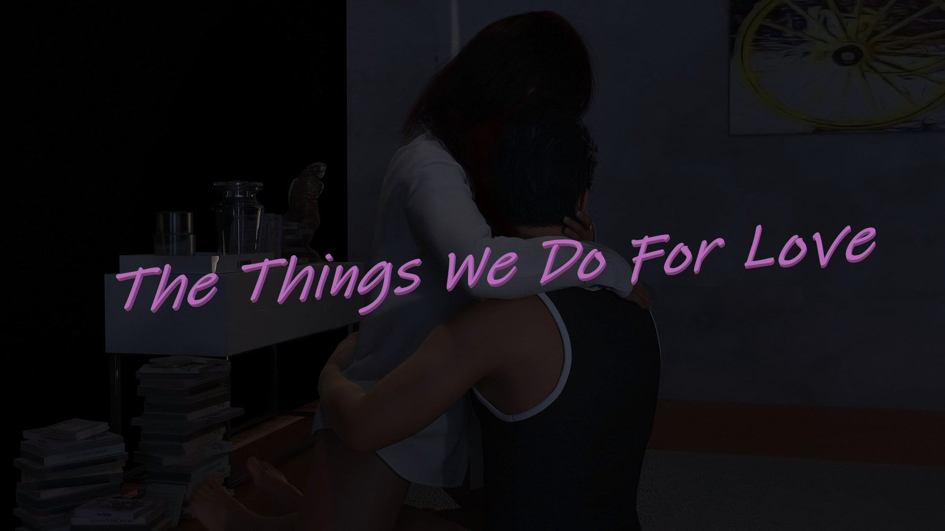 The Things We Do For Love Adult Game Cover