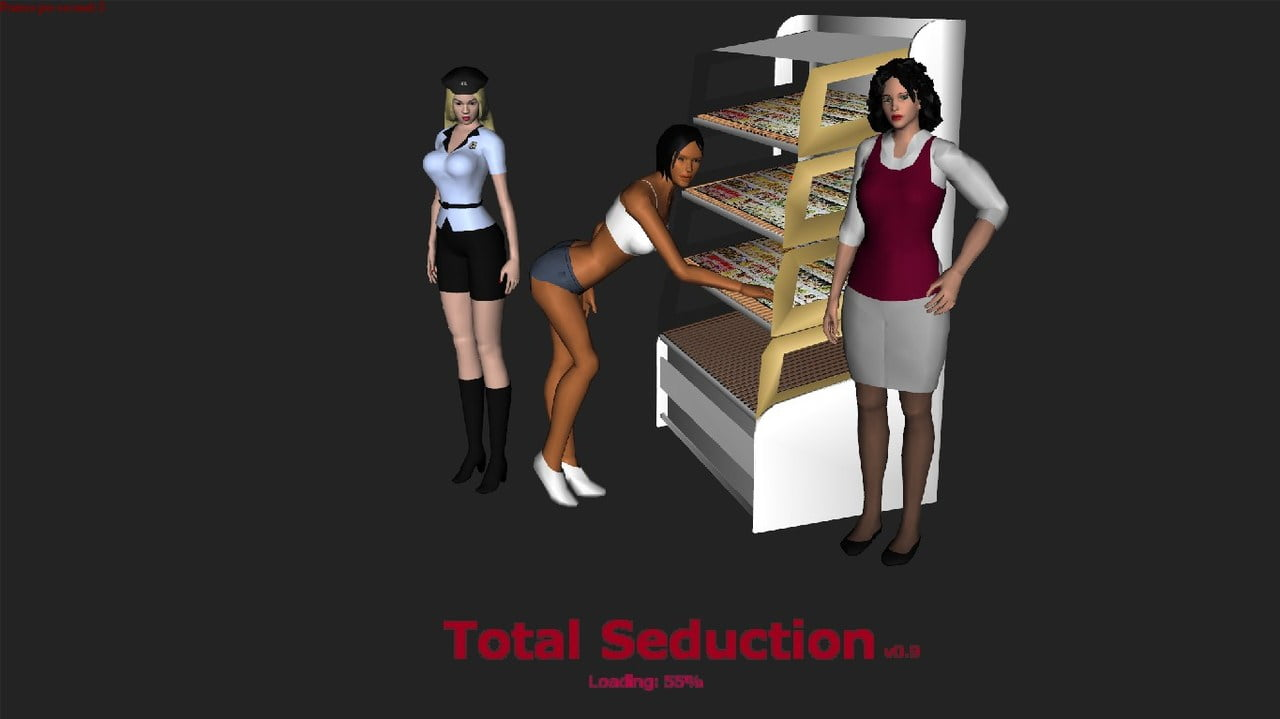 Total Seduction Adult Game Cover