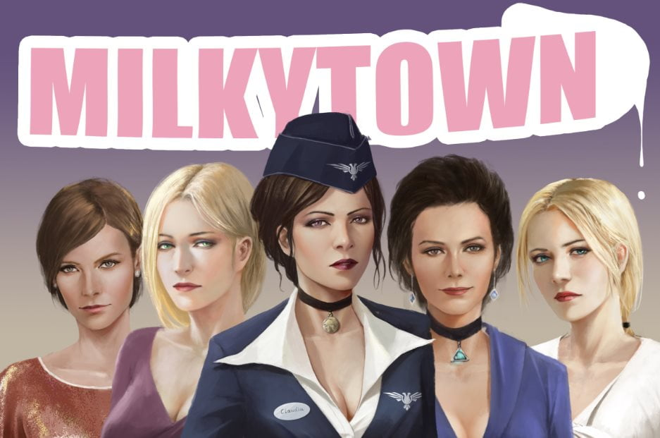 Milky Town Adult Game Cover