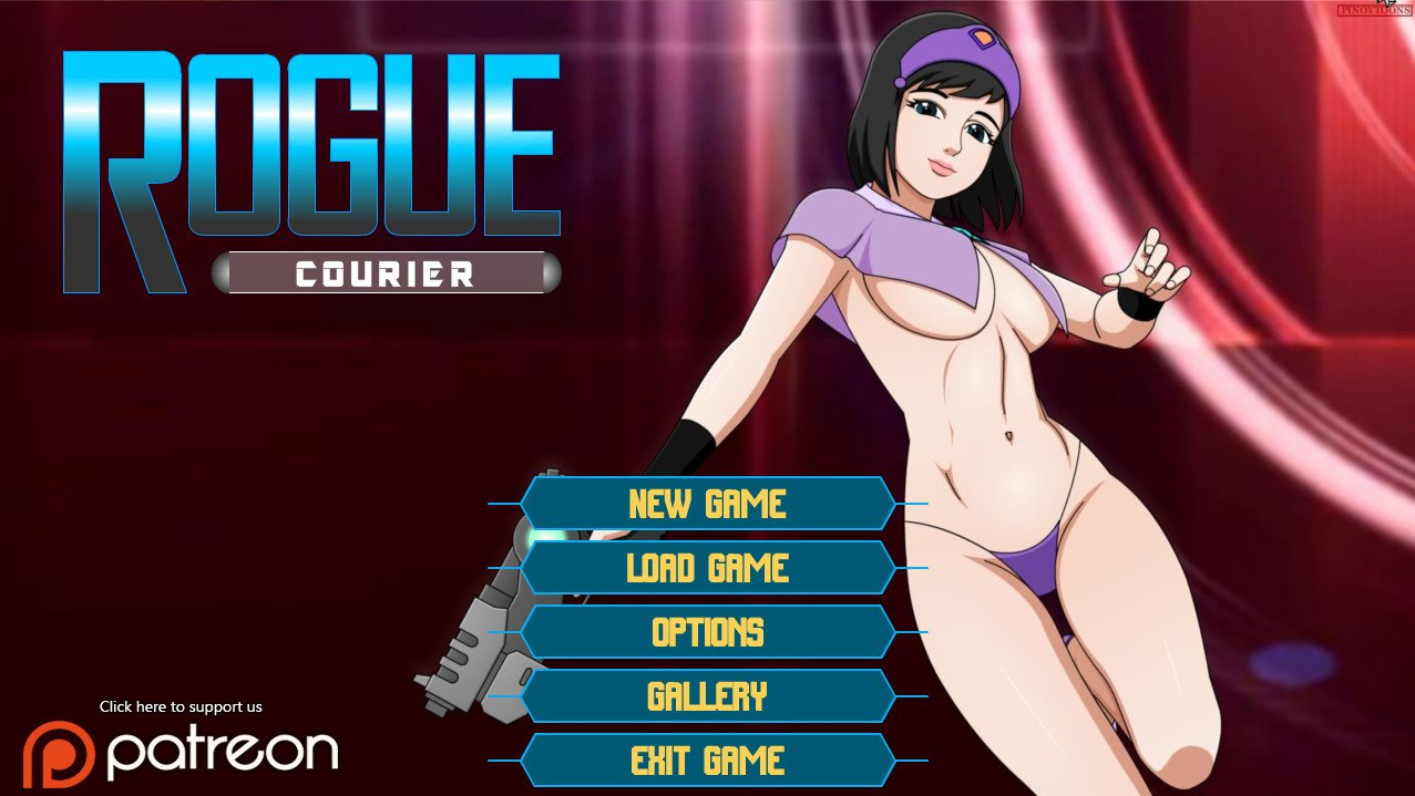 Rogue Courier Adult Game Cover