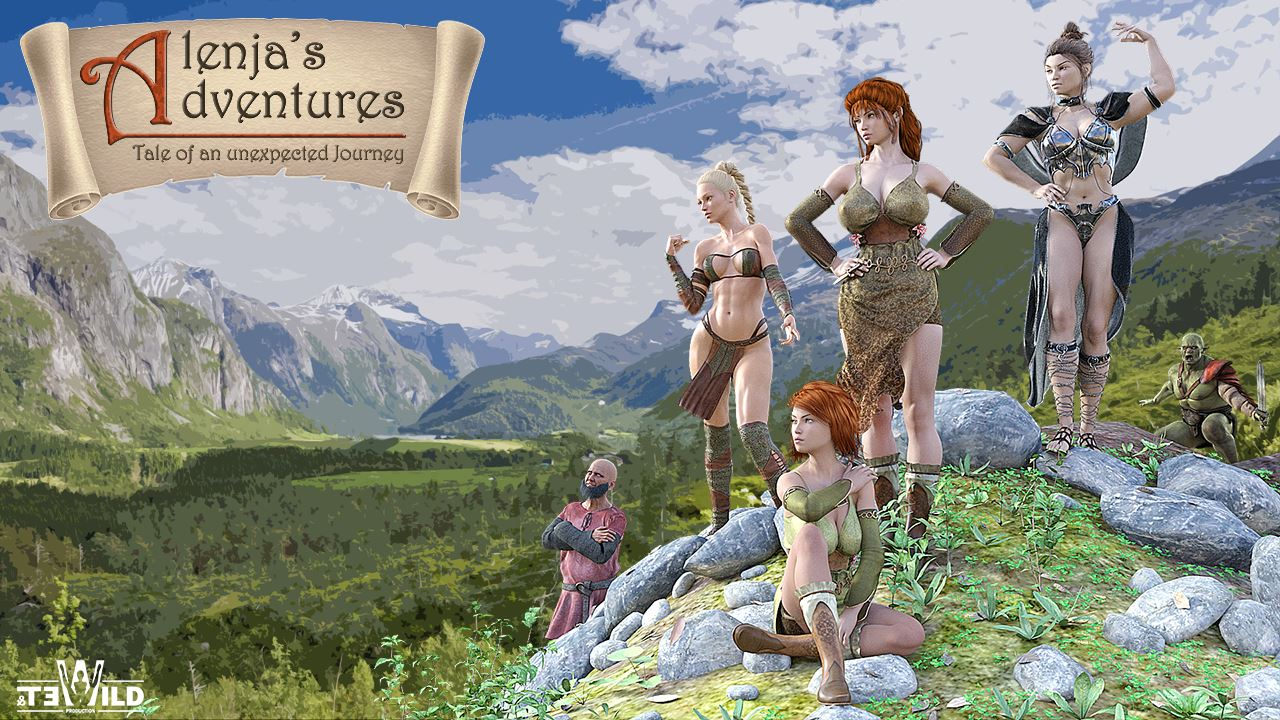 Alenja's Adventures Adult Game Cover