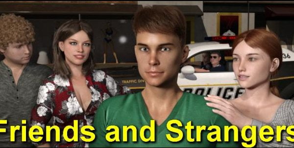 Family, Friends and Strangers Adult Game Cover