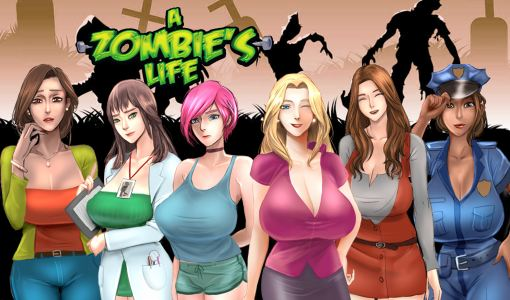 A Zombie's Life Adult Game Cover