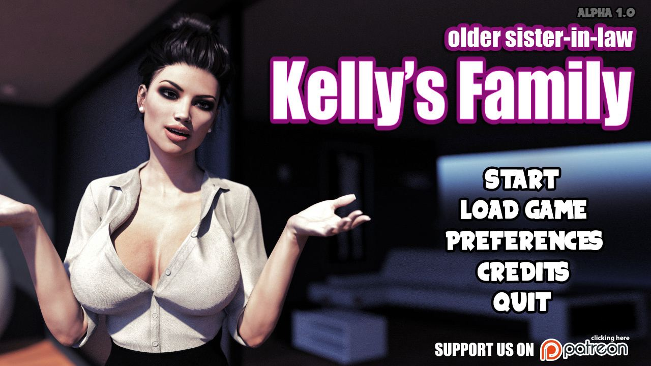 Kelly's Family: Older sister in law Adult Game Cover