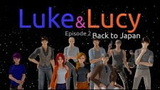 Luke and Lucy 18+ Adult game cover