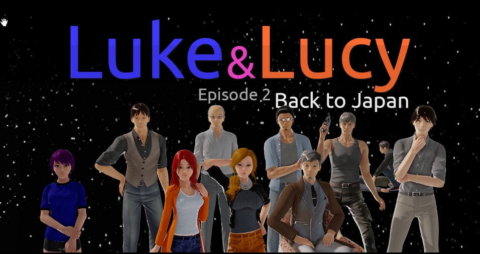 Luke and Lucy Adult Game Cover