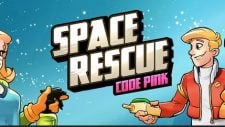 Space Rescue: Code Pink 18+ Adult game cover