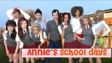 Annie's School Days 18+ Adult game cover
