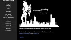 Corrupted City 18+ Adult game cover