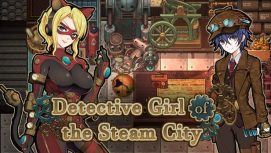 Detective Girl of the Steam City 18+ Adult game cover