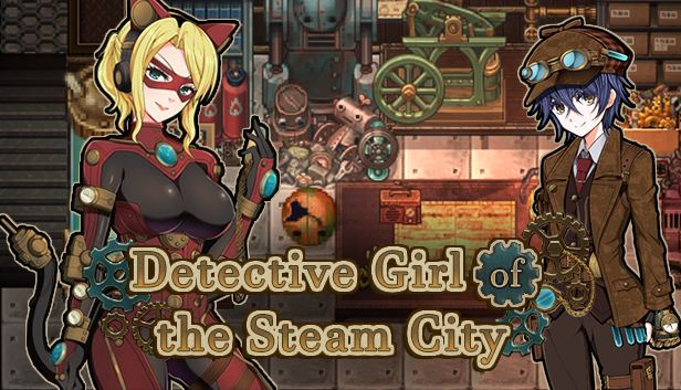 Detective Girl of the Steam City Adult Game Cover