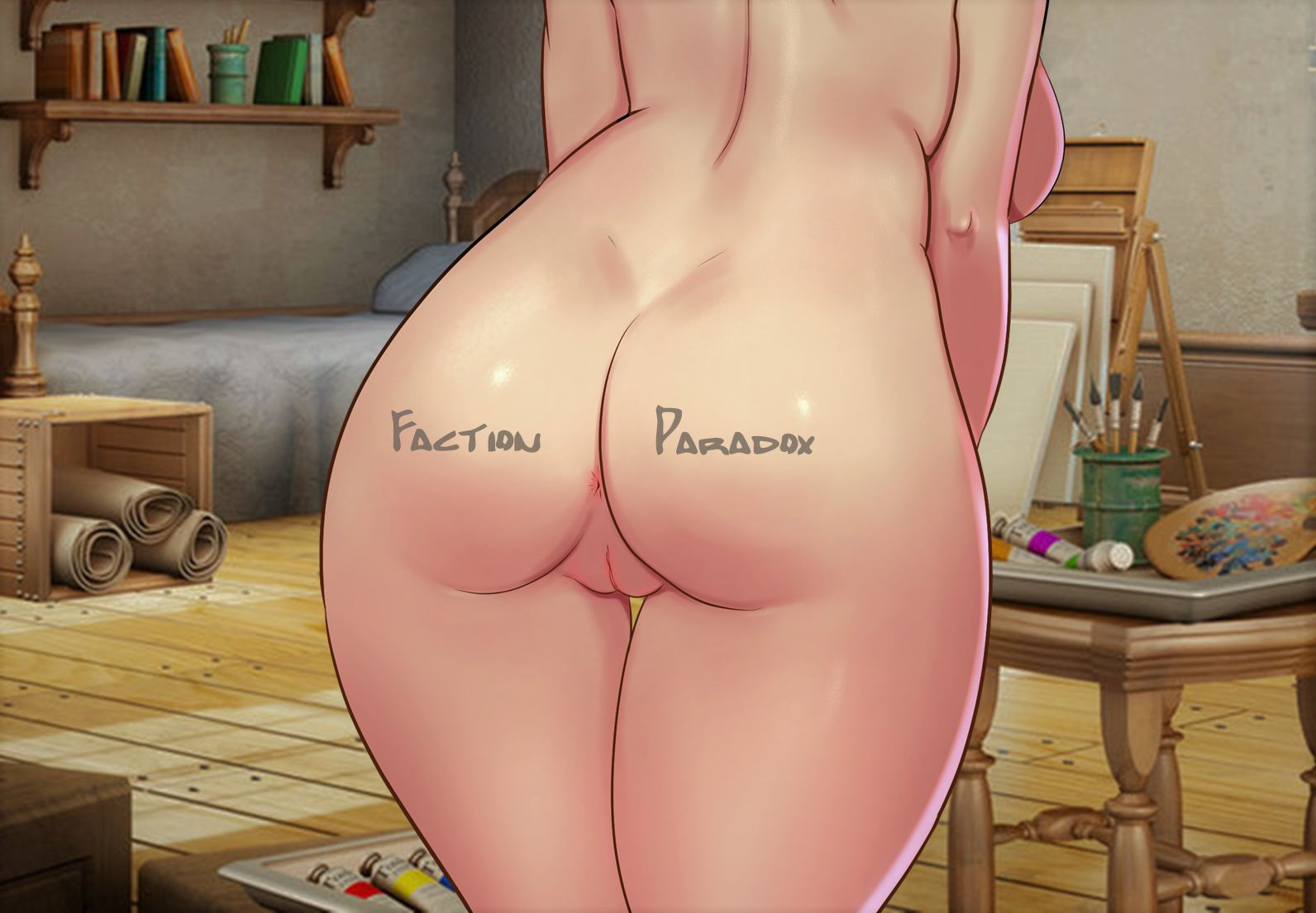 Faction Paradox Adult Game Cover