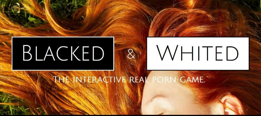 Blacked And Whited Adult Game Cover