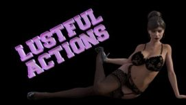 Lustful Actions 18+ Adult game cover