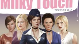 Milky Touch 18+ Adult game cover