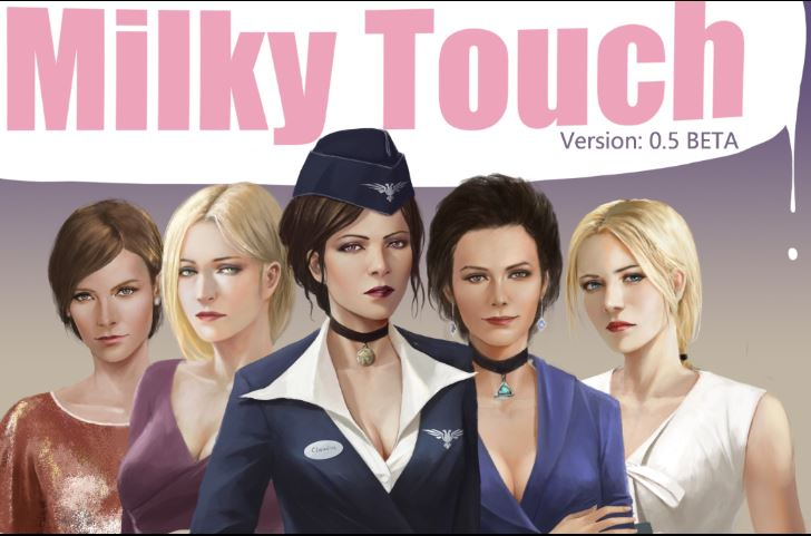 Milky Touch Adult Game Cover