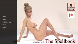 The Spellbook Mini-Games 1-3 18+ Adult game cover