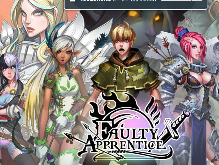 Faulty Apprentice Adult Game Cover