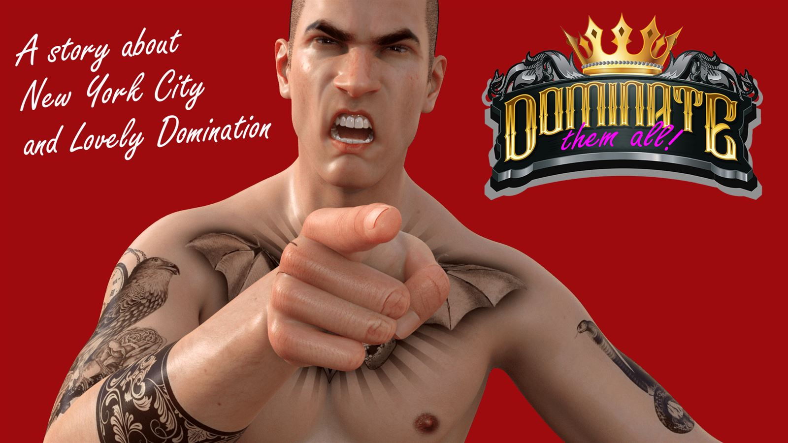 Dominate Them All Adult Game Cover