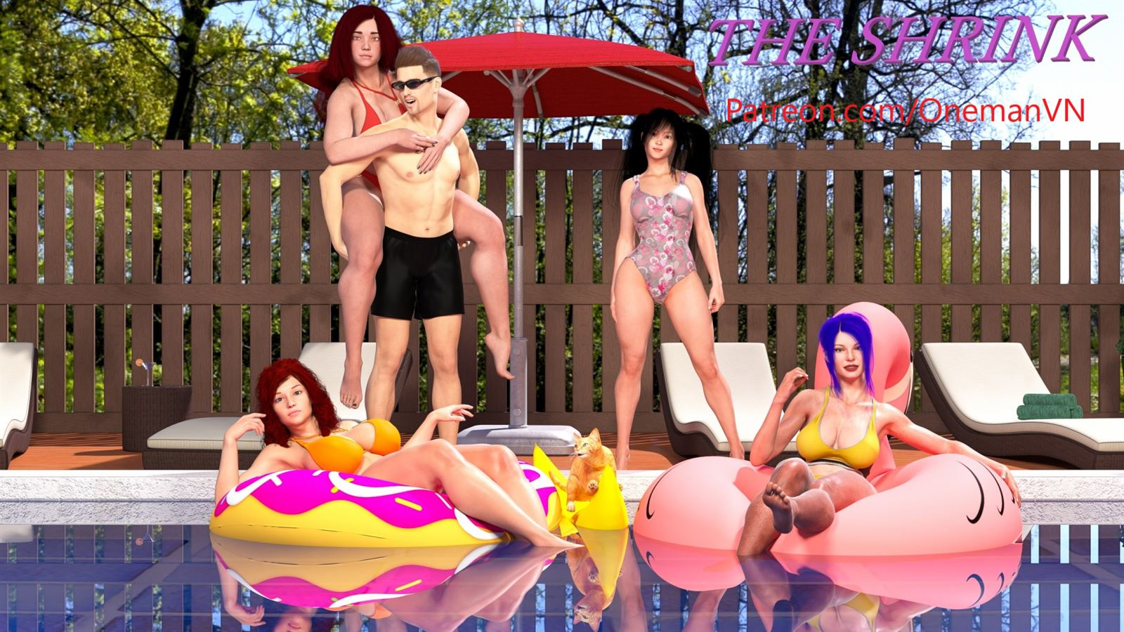 THE SHRiNK Adult Game Cover