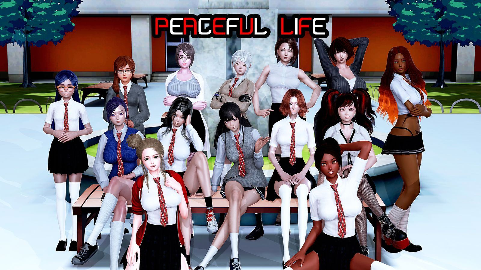 Peaceful Life Adult Game Cover