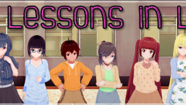 Lessons in Love 18+ Adult game cover