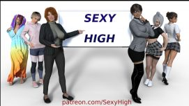 Sexy High 18+ Adult game cover