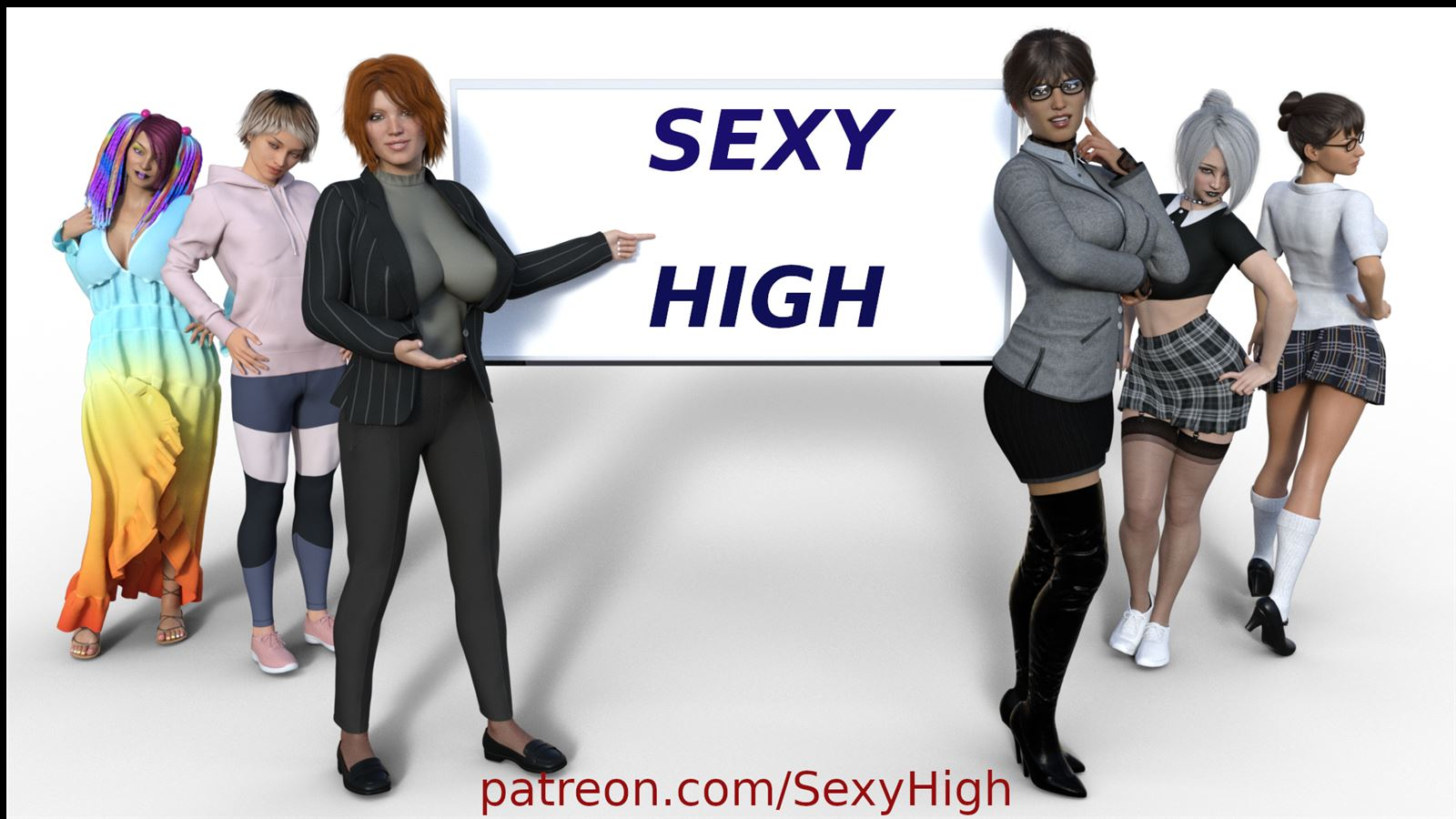 Sexy High Adult Game Cover