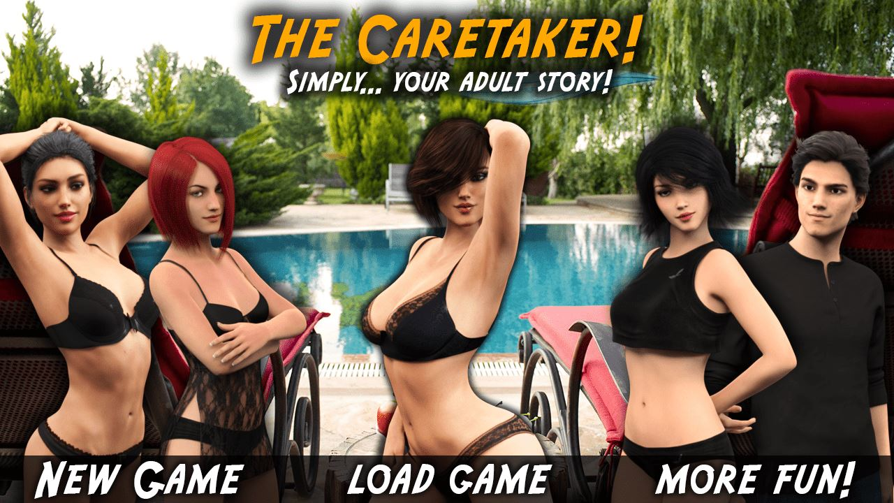 The Caretaker Adult Game Cover