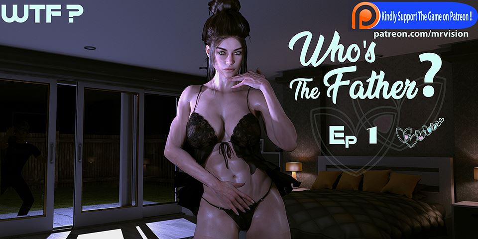 Who's The Father? Adult Game Cover